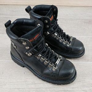 Harley-Davidson® Sz 8.5 Motorcycle Riding Boots